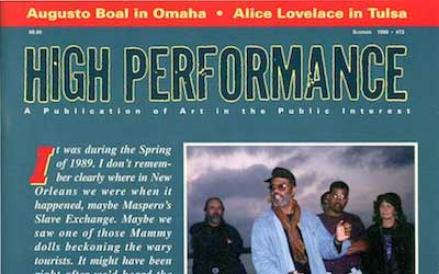 High Performance #72 Vol. XIX, No. 2, 1996