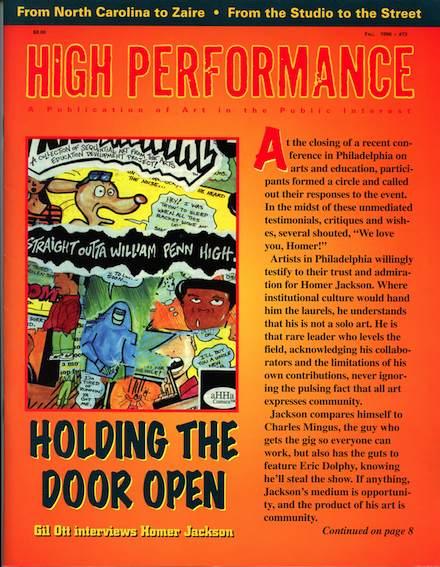 High Performance #73 - Homer Jackson