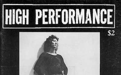 High Performance #7 Vol. II, No. 3, 1979