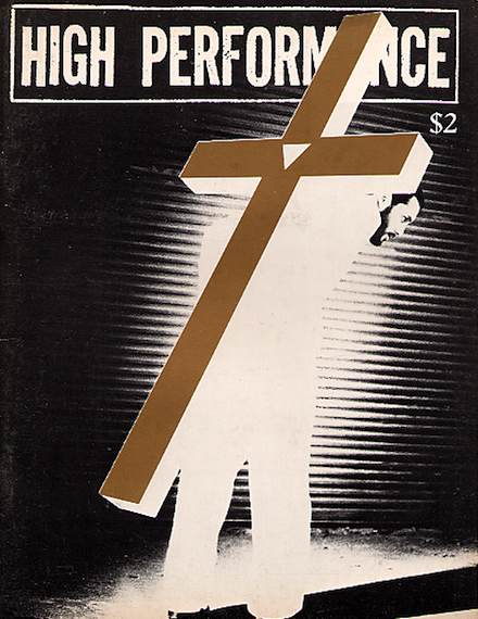 High Performance #9 Vol. III, No. 1, 1980