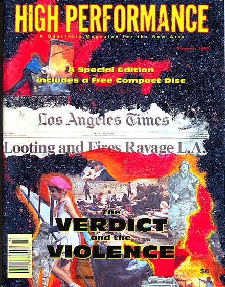 High Performance Special Issue, 1992